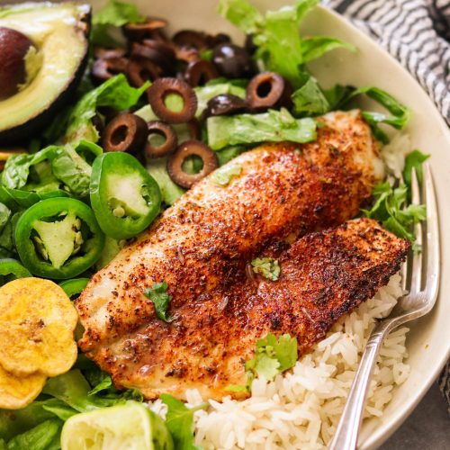 Chili Lime Tilapia in the Air Fryer or Oven (Paleo, Whole30, Keto)