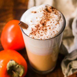 persimmon latte