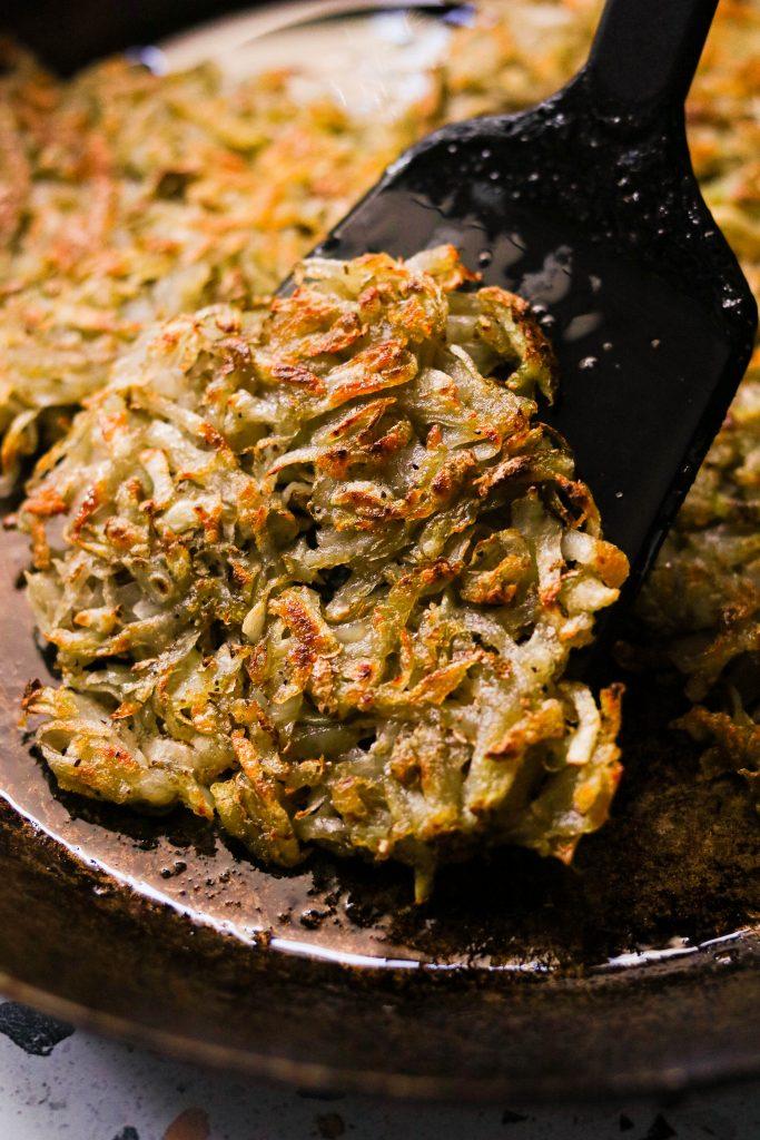 pan frying hash browns for homemade crispy hash browns recipe