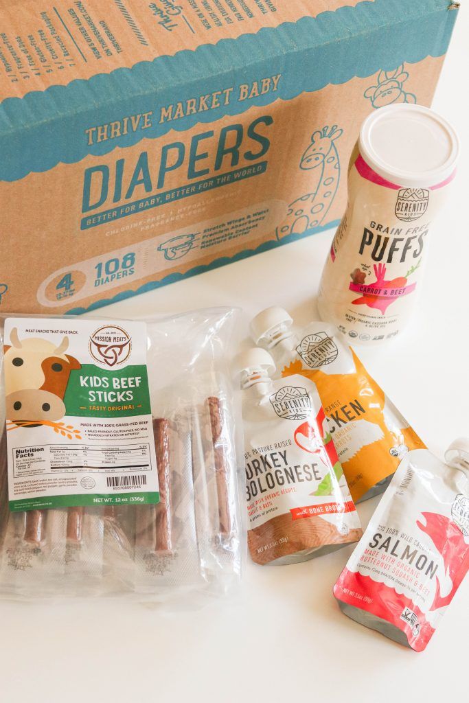 Thrive Market products for toddlers