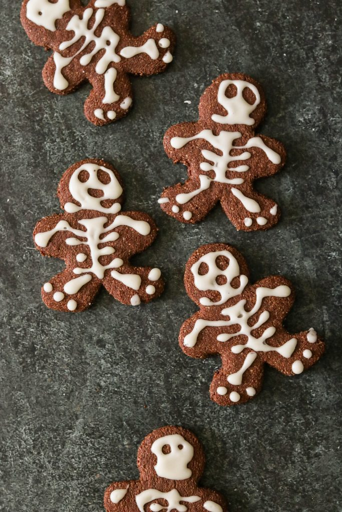 paleo cut out cookies for Halloween